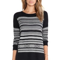 Nordic Ski Sweater in Black: Buy Bailey 44 at CoutureCandy.com