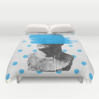 Wade Duvet Cover by Heart of Hearts Designs