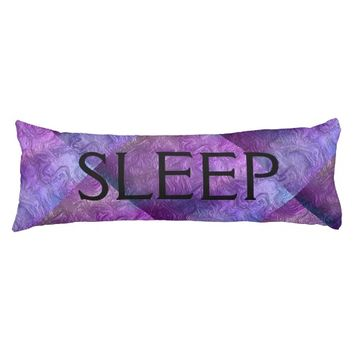Purple Swirls Faux Metallic Personalize Text