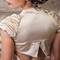 CREATIVE Wedding Bolero in Cream more colors by uniquastudio