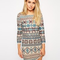 Needle & Thread Multi Lace Stitch Dress