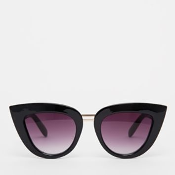 ASOS Double Bridge Cat Eye Sunglasses