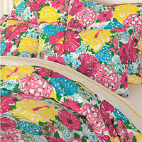 Lilly Pulitzer Heritage Floral Sateen Comforter Cover and Sham