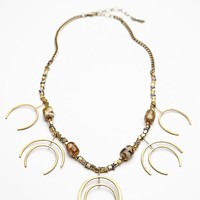 Free People Fading Crescent Necklace