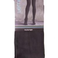 FLEECE LINED TIGHTS/ PEWTER