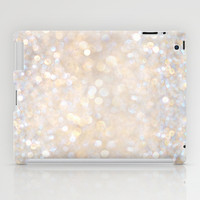 Glimmer of Light II (Ombré Glitter Abstract*) iPad Case by soaring anchor designs ⚓ | Society6