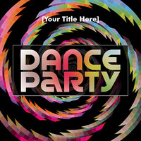 Dance Party Invitation - Card Design - Printable File