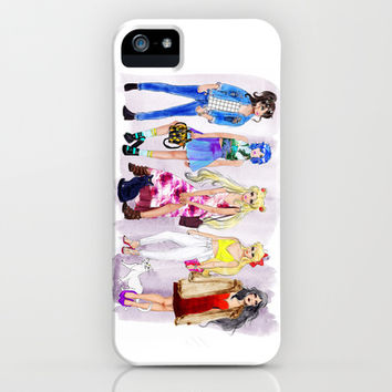 Fashion Scouts iPhone & iPod Case by Sara Eshak