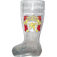Glass Das Boot Beer Mug 1 Liter As Seen in Beerfest