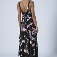 FLORAL PRINT MAXI DRESS BY BAND OF GYPSIES