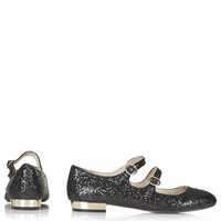 FIZZ GLITTER MARY JANE SHOES