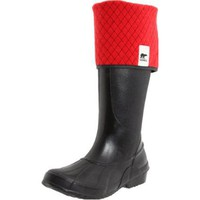 Sorel Women`s Sorellington Plus NL1771 Rain Boot,Black,12 M US