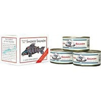 Alaska Smokehouse Canned Smoked Salmon Gift Set