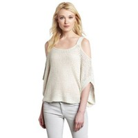 Willow & Clay Women`s Cold Shoulder Sweater