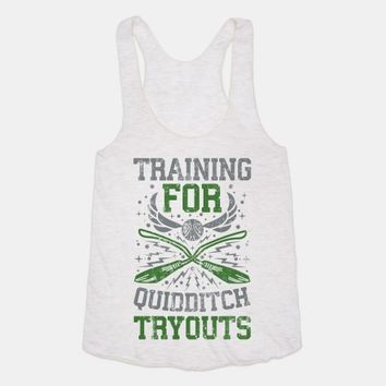 Training For Quidditch Tryouts (Slytherin)