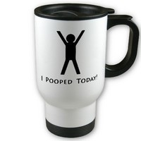 I Pooped Today Mugs from Zazzle.com
