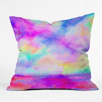 Jacqueline Maldonado The Calm And The Storm Throw Pillow