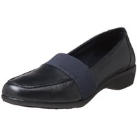 5th Ave. by Easy Street Women`s Champion Slip-On,Navy Smooth,10 N US