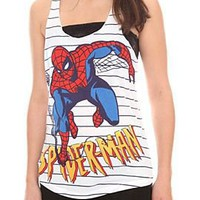 Marvel Spider-Man Striped Tank Top - 166045