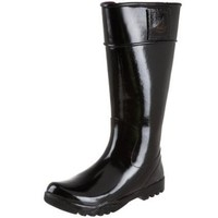 Sperry Top-Sider Women`s Pelican Rain Boot,Black,9 M US