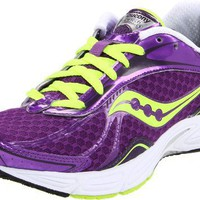 Saucony Women`s Grid Fastwitch 5 Running Shoe,Purple/Citron,12 M US