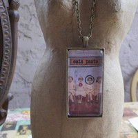 Jane Eats Paste Another Hillarious Dick And Jane Themed Pendant Necklace