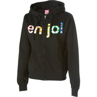 Enjoi Spectrum Gingham Full-Zip Hooded Sweatshirt - Women`s