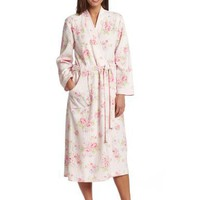 Carole Hochman Women`s Bourban Rose Blossoms Robe
