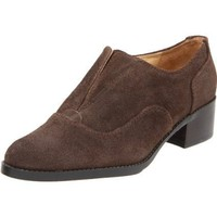 Circa Joan & David Women`s Romola Oxford,Brown,8.5 M US