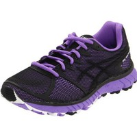 ASICS Women`s Gel Instinct33 Running Shoe,Black/Onyx/Neon Purple,7 M US
