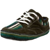 soleRebels Women`s Run Around Tribute Lace-Up,Green,13 M US