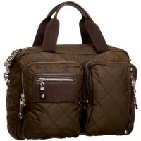 BLVD Elise Messenger,Chocolate,one size