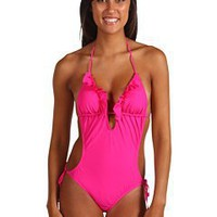 Guess After Party G Cut One Piece Swimsuit