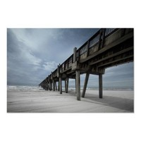 Pensacola Pier Print from Zazzle.com
