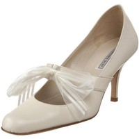 shannon britt Women`s Victoria Pump,Kid Cream,10 M US