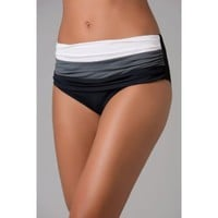 Bleu Rod Beattie Block Star Banded High Waist Bottom