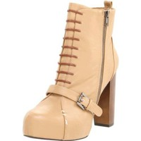 C Label Women`s Mindy-4 Bootie,Tan,6.5 M US