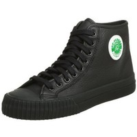 PF Flyers Unisex Sandlot Center High Sneaker,Black,9 US Men`s/10.5 M US Women`s