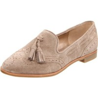 DV by Dolce Vita Women`s Marcel Basic Loafer,Taupe Suede,9.5 M US