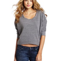 Splendid Women`s Twisted Neck Sweater