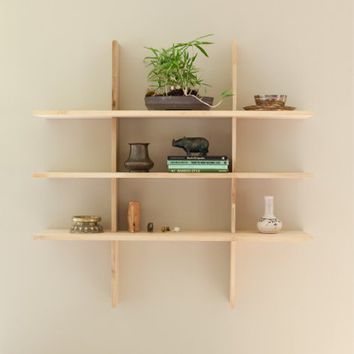 Supermarket: The Simple Grid Locking Shelves from El Dot
