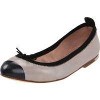 Bloch London Women`s Classica Pearl Ballet Flat,Atoms/Black,38.5 EU/8.5 M US