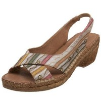 Azura by Spring Step Women`s Audrey Open-Toe Espadrille,Beige,36 M EU / 5.5-6 B(M)