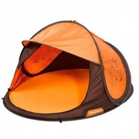 Brown 2-second Baby Tent QUECHUA - Baby carriers Quechua - On sale on Decathlon.co.uk