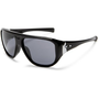 Oakley Women`s Correspondent Aviator Sunglasses,Dark Frame/Ice Iridium Polarized Lens,one size