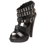Not Rated Women`s Alter Ego Platform Sandal,Black,8.5 M US