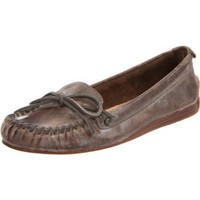 FRYE Women`s Alex Camp Slip-On Loafer,Slate,11 M US