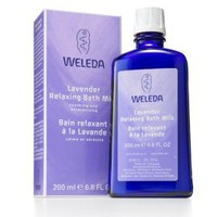 Weleda Lavender Relaxing Bath Milk