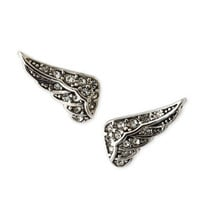 Juicy Couture - Pave Wing Stud Earrings - Last Call