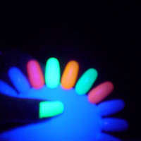 "Pixie Polish ""OMFG""- Neon Nail Polishes - Big 3 Free- Neon- Blacklight UV Reaactive- on sale now"